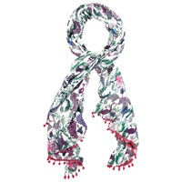 White Stuff Two By Two Scarf Multi