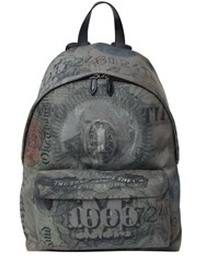Givenchy Abstract Dollar Cordura Backpack