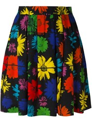 Moschino Floral Print Skirt Multicolour