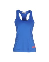 Adidas By Stella Mccartney Adidas By Stella Mccartney Topwear Vests Women Blue