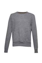 French Connection Tribal Scars Sweat Charcoal