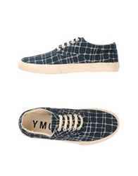 Ymc You Must Create Low Tops And Trainers Slate Blue