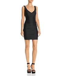 Tiger Mist Stephanie Sleeveless Ruched Dress Black
