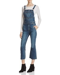 Rag And Bone Jean Crop Flare Overalls In Paz