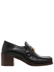 Gucci 55Mm Vegas Leather Loafers
