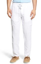 Men's Toscano Drawstring Linen Cargo Pants