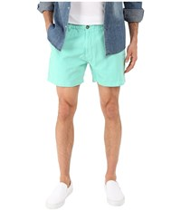 Vintage 1946 Garment Dyed Pull On Shorts Aqua Men's Shorts Blue