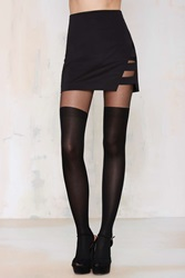 Nasty Gal Keep A Secret Tights