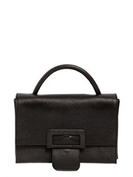 Maison Martin Margiela Grained Leather Shoulder Bag