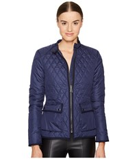 Belstaff Randall 2.0 Lightweight Technical Quilt Jacket Bright Indigo Women's Coat Navy