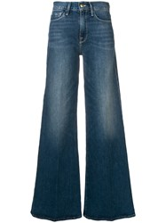 Frame Palazzo Jeans Blue