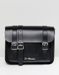 Dr. Martens Dr 11 Leather Satchel In Black