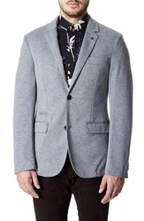 7 Diamonds Men's Perugia Casual Blazer Grey