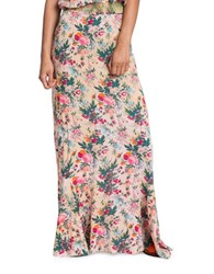 Plenty By Tracy Reese Floral Maxi Skirt Calico Floral