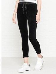 Juicy Couture Track Stretch Velour Legging Black