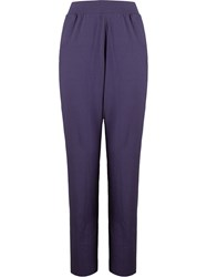 Lygia And Nanny Straight Leg Trousers Blue