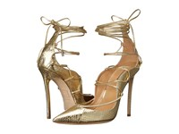 Dsquared Riri Strappy Pump Gold Women's Shoes