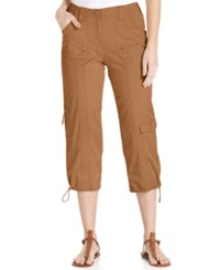 Styleandco. Style Co. Cropped Cargo Pants Only At Macy's Tobacco