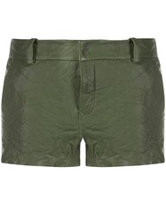 Zadig And Voltaire Crumpled Simio Shorts 60