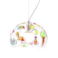 Kartell Children's Fl Y Ceiling Light Sketch Mini