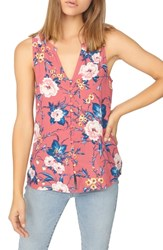 Sanctuary Beverly Floral Sleeveless Top Full Bloom