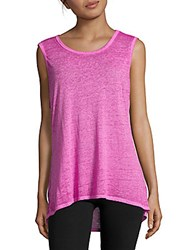Betsey Johnson Textured Sleeveless Top Quick Silver