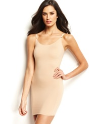 Star Power By Spanx Firm Control Hollywood Socialight Camisole Full Slip 2351 Only At Macy's Natural Glam