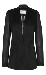 Maison Rabih Kayrouz Wired Organza Jacket Black