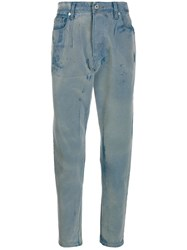Just Cavalli Bleached Effect Jeans 60