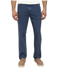 Ag Adriano Goldschmied Graduate Tailored Leg Sueded Stretch Twill In Sulfur Promontory Blue Sulfur Promontory Blue Men's Jeans