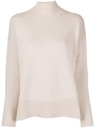 Peserico Relaxed Fit Knit Jumper Neutrals