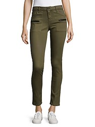 Sanctuary Ace Utility Skinny Jeans Green