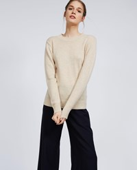 Aspesi Wool Yak Cashmere Sweater Natural