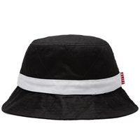 Alife Quilted Bucket Hat Black