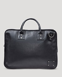 Will Leather Goods Hank Satchel Black