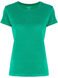 Majestic Filatures Knitted T Shirt Green