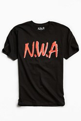 Urban Outfitters N.W.A. Straight Outta Compton Tee Black