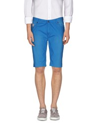 Franklin And Marshall Trousers Bermuda Shorts Men Azure