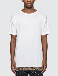 Uniform Experiment Hem Layerd T Shirt White