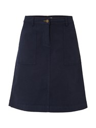 White Stuff Bessie Chino Skirt Navy