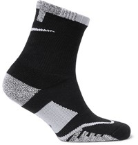 Nike Tennis Nikegrip Elite Crew Socks Black