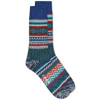 Chup By Glen Clyde Company Jarvi Sock Blue