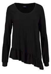 Vila Viflorist Long Sleeved Top Black