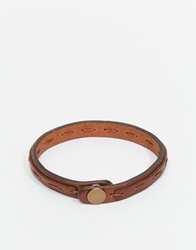 Jack And Jones Jack And Jones Leather Bracelet Brown