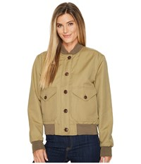 Filson Libby Bomber Jacket Field Green Women's Coat