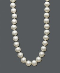Belle De Mer Cultured Freshwater Pearl Strand Necklace 8 1 2 9 1 2Mm In 14K Gold