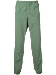 Patagonia Ribbed Cuff Trousers Green