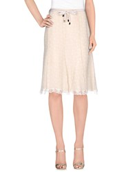 Martinelli Skirts Knee Length Skirts Women Beige