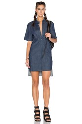 Publish Sybil Button Up Shirt Dress Indigo