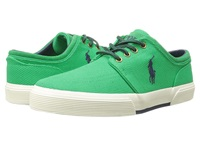 Polo Ralph Lauren Faxon Low Green Calvary Twill Sport Suede Men's Lace Up Casual Shoes